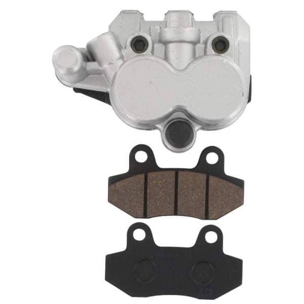 Bremssattel Bremszange silber vorn Doppelkolben 2090204-9-S-4T125