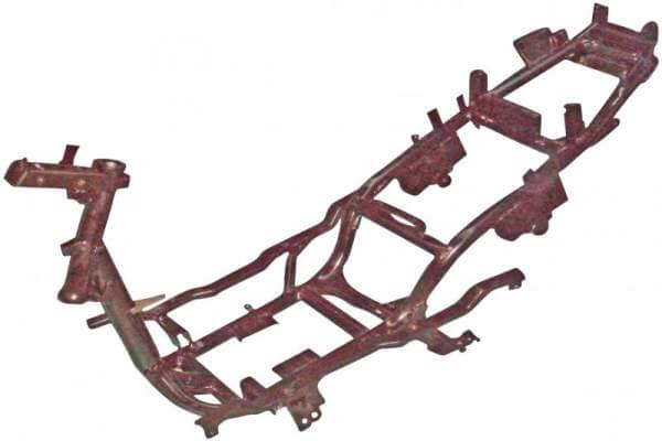 Rahmen schwarz Ohne Rahmennummer 1035 1030301-3-4T125