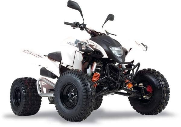 Adly ATV Quad Hurricane 450 S LOF weiß