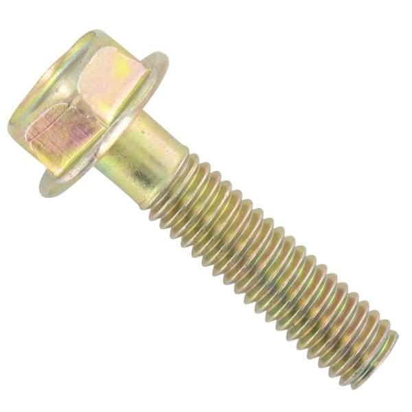 Schraube 6 x 25 sechskant gelb DAE-S5701-06025-08