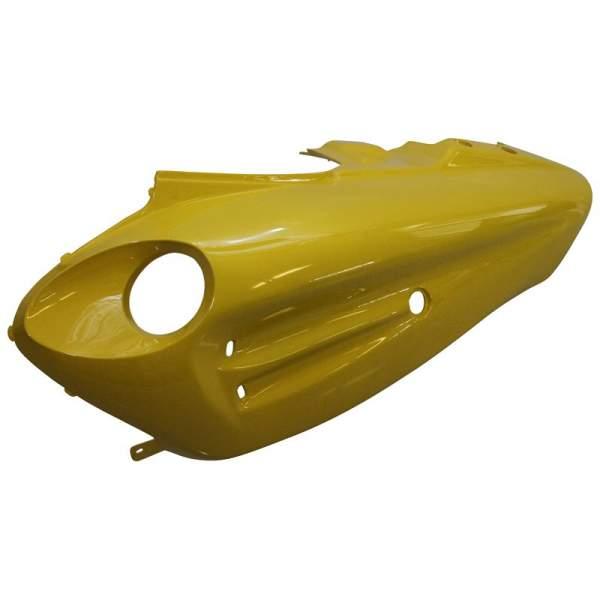 Heckverkleidung mit Dekor links Fighter 50 Sport gelb 1020309-1-E-G