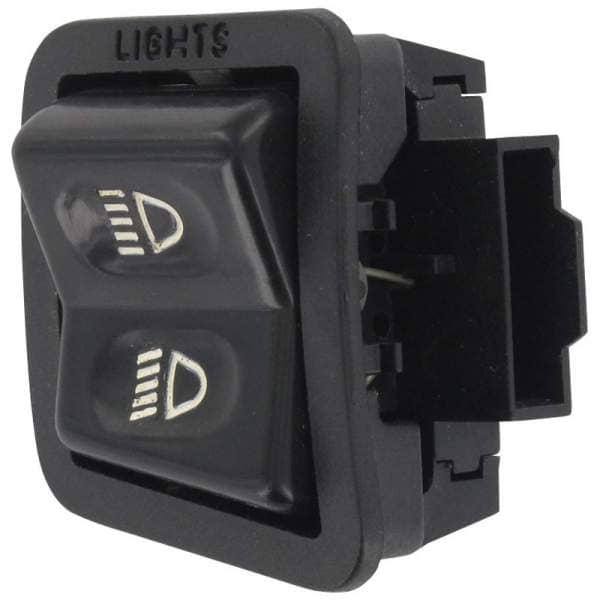 Sundiro XDZ 50 A Phoenix Lichtschalter 50ccm 4Takt FIG.-0416-NO.-16 Motorroller.de Knopf Ausschalter Einschalter Scheinwerferschalter Licht-Schalter