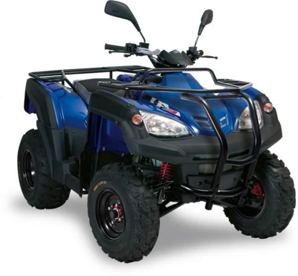 Adly ATV Canyon 320 SE LoF blau