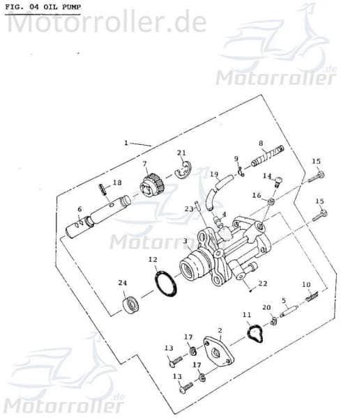 Dichtung Ventilschaft Aeon Cobra 50 Quad ABR-91319-110-000 Motorroller.de Ventilschaftdichtung Ventilschaftabdichtung Ventildichtung Dichtung-Ventil