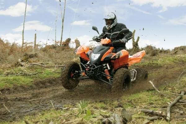 Adly ATV Quad Hurricane 450 S LOF orange