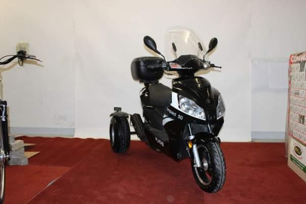 Dreiradroller RJOS Impact 50 Trike schwarz Gebraucht