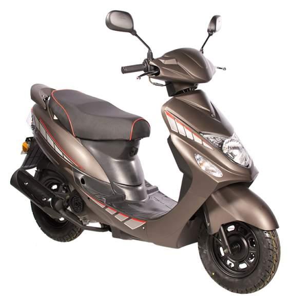 GMX 460 Sport Roller Scooter 25 kmh braun matt Euro 4