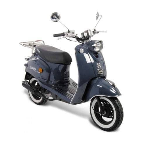 GMX 460 Retro Classic NF Edition Motorroller 25 km/h blau