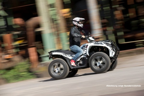 Adly ATV Conquest 700 EFI SE 4x4 LOF Kardan, weiß